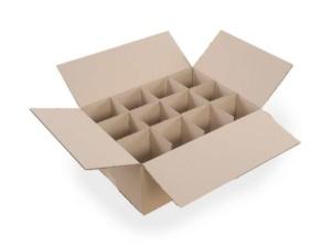 Kutija za čaše sa pregradama